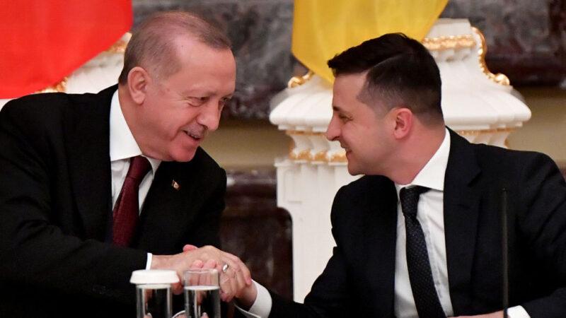 烏東危機黑海戰雲 土烏兩領袖會談強調和平合作