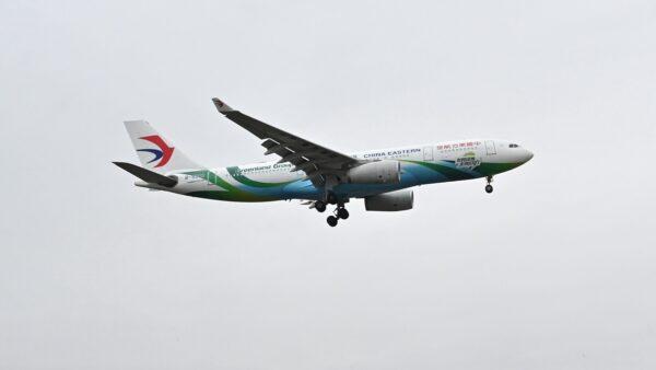 东航客机深夜撞鸟 玻璃破裂紧急返航(视频)