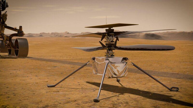 火星直升机完成更危险飞行 探测器开始造氧(视频)