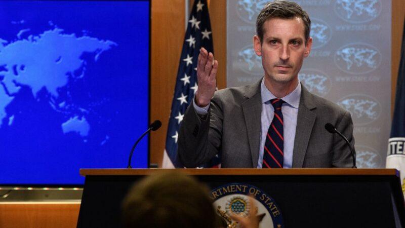 美国务院:中共武力改变台海现状是严重错误