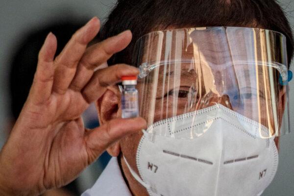 菲国总统维安小组126人确诊 杜特尔特身体状况受关注