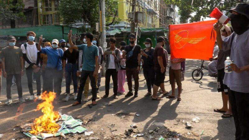 缅甸成立新政府对抗军方 联合国特使警告或爆内战