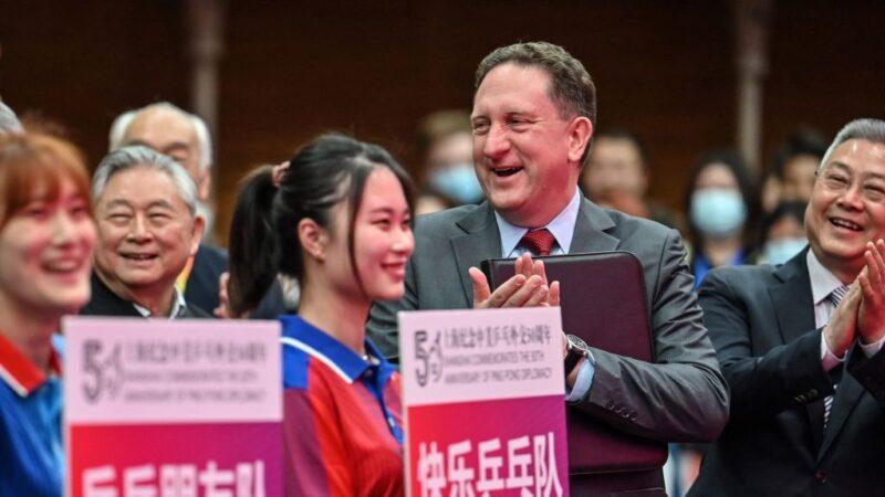 北京再炒中美乒乓外交 不提毛澤東大喊「莊爺爺」