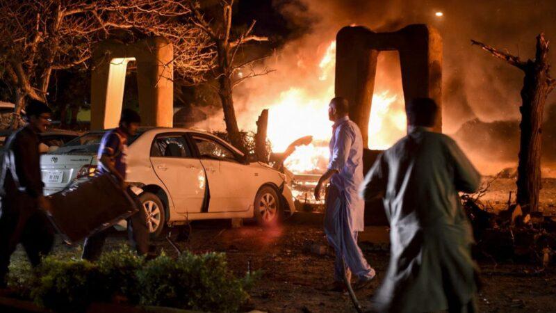 巴基斯坦爆炸案4死12傷 中共大使逃過一劫