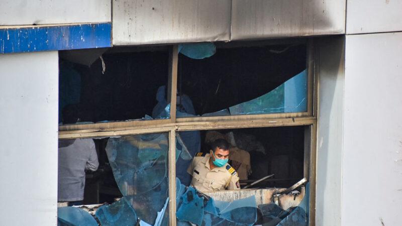 疫情惡化醫療緊繃 印度醫院大火13染疫病患喪命
