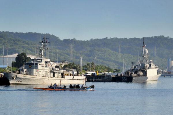 印尼搜索失聯潛艦 50至百米深處偵測到不明物