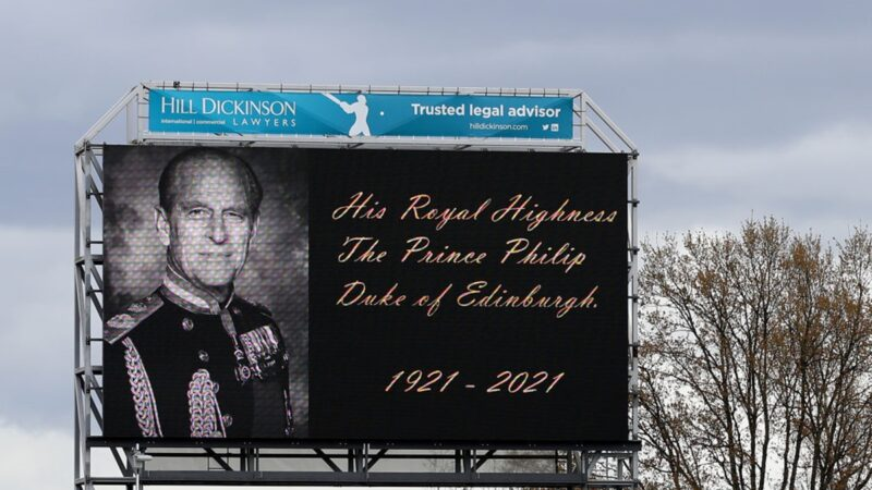 白金漢宮:菲利普親王去世