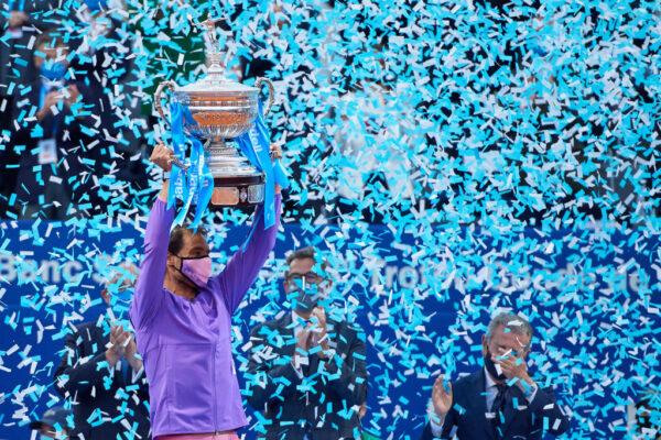 纳达尔勇夺生涯第12冠 球王乔科维奇爆冷出局