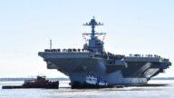 美军10万吨航母战力曝光 陆媒叹:不服行吗?