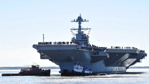 美軍10萬噸航母戰力曝光 陸媒嘆:不服行嗎?