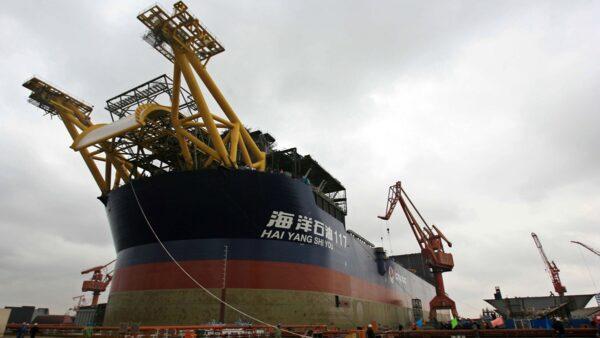 中国渤海油田大火烧4天才公告 3人失踪99人撤离