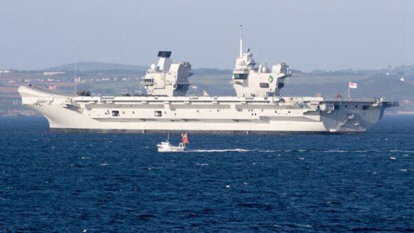 瞄準中共!英航母將訪日韓 參加17國聯合軍演