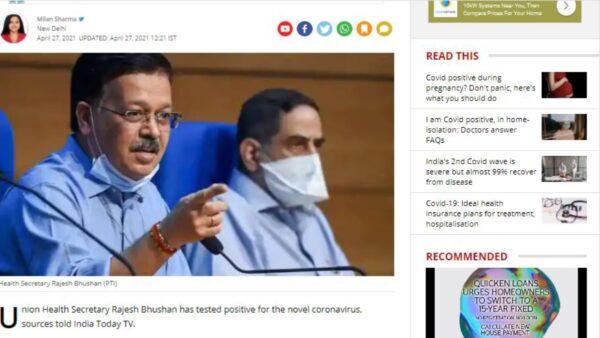 印度病例飆升衛生部長確診 富豪逃離機票漲10倍