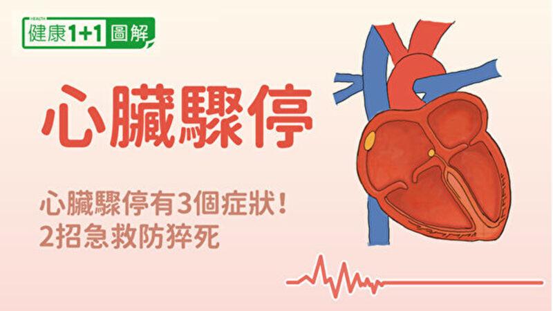 心脏骤停有3症状 2招急救防猝死!急救方法全图解