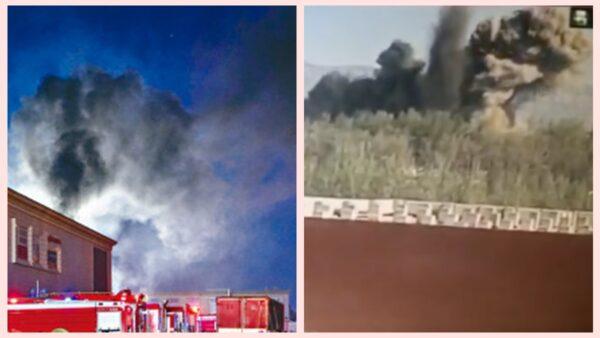北京山西接連爆炸 2消防員喪生 工廠如核爆(視頻)