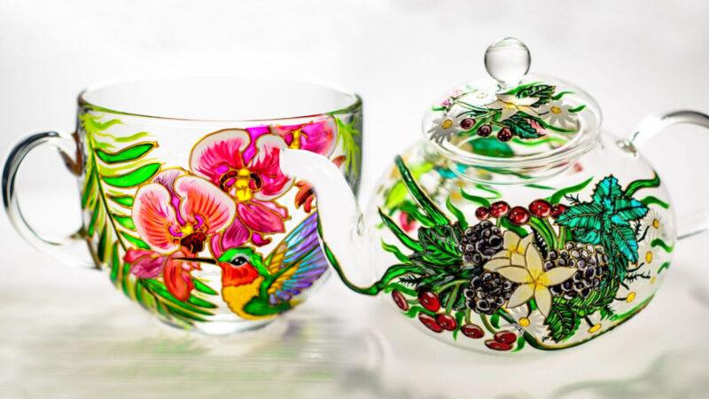 组图:令人赏心悦目的精美玻璃器皿