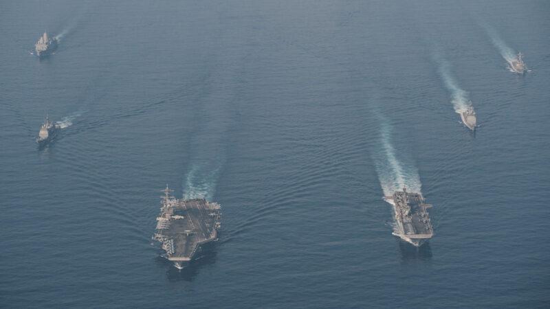 对抗中共 美国中东撤军全球军力重新部署