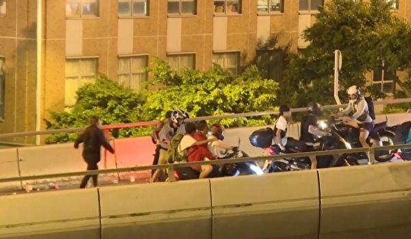 参与理大保卫战救出8人 香港父子赴美寻庇护