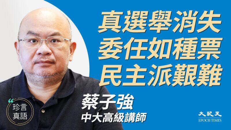 【珍言真语】蔡子强:改选制 香港失真选举