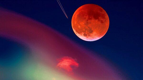 5月26日「超級血月」來襲 不祥之兆要出大事?