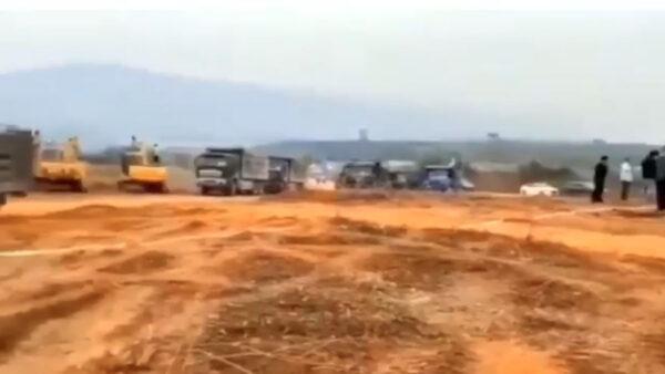 传云南瑞丽城内加强管控 开建隔离医院(视频)