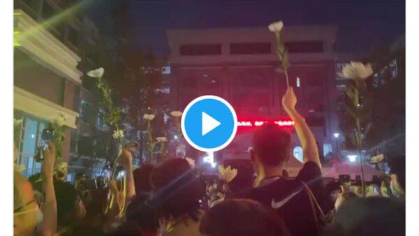 网传成都49中案内情 民众聚校门要真相被抓(视频)