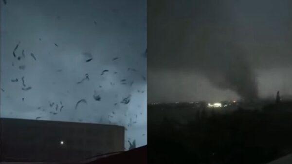 武汉、苏州遭九级龙卷风 酿10死近400人伤(视频)
