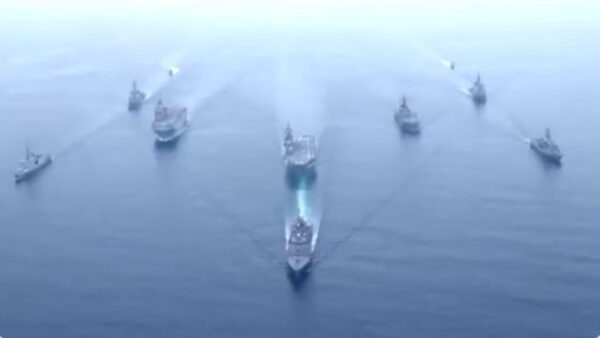 日美法澳首次聯合軍演 圍堵中共信號明顯