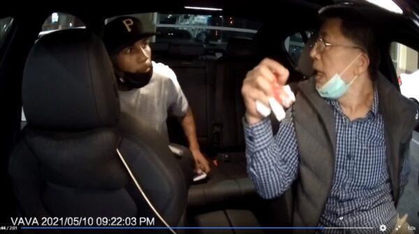 """台裔司机遭抢劫 枪口下大喊""""我来自台湾""""保命(视频)"""