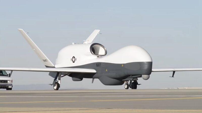 瞄準中共 美軍MQ-4C無人機首次部署日本
