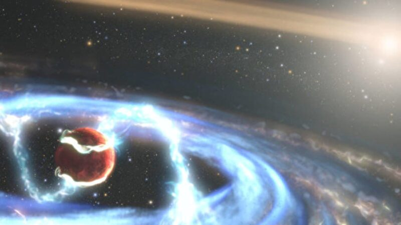 難得一見 哈勃見證全新巨型行星形成過程