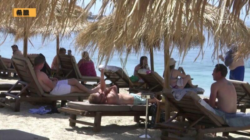 印度疫情肆虐 希臘開放旅遊業