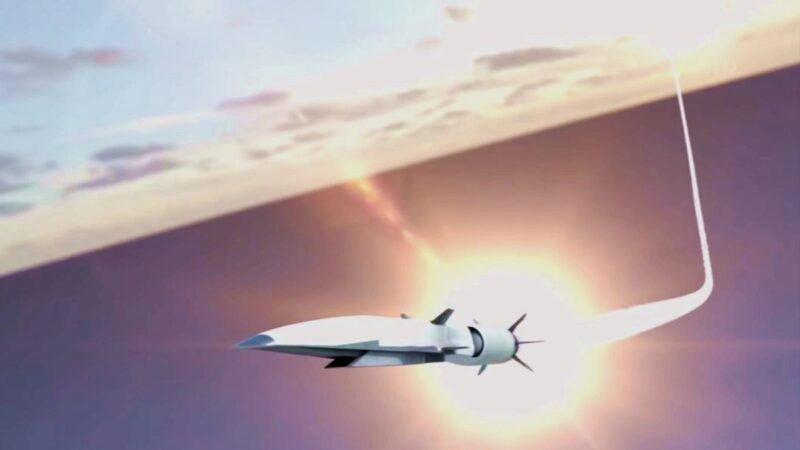 美高超音速导弹射程曝光 可轻易狙击中共攻台