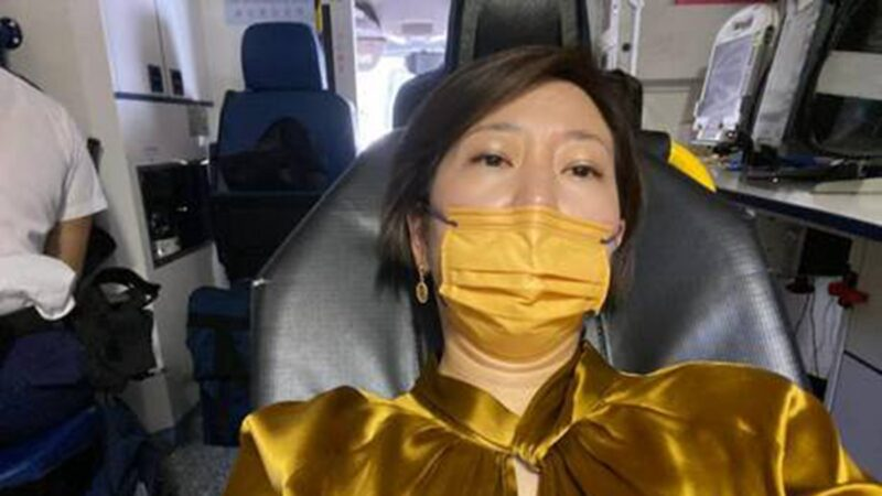 【突发】香港大纪元记者梁珍遭暴力袭击(视频)