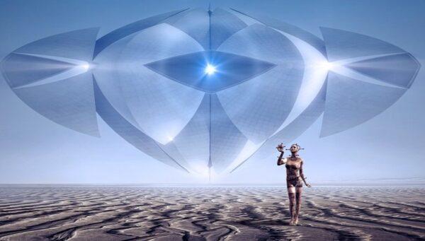 阿拉伯沙漠UFO来去如光 背后藏千古谜团