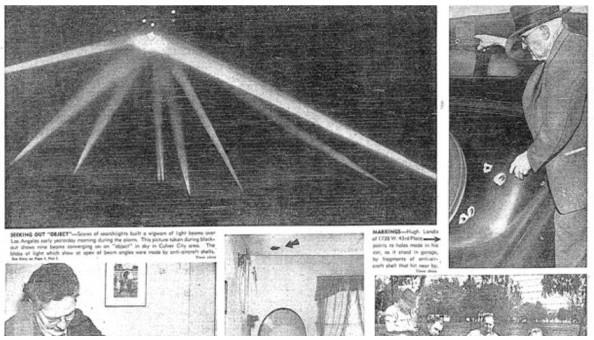 美軍千炮炮擊UFO 它未損毫毛神秘消失