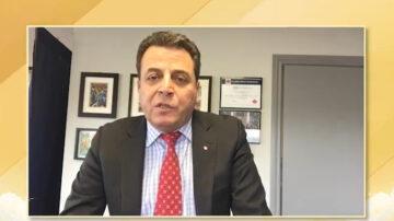 國會議員Ziad Aboultaif恭賀5.13「世界法輪大法日」
