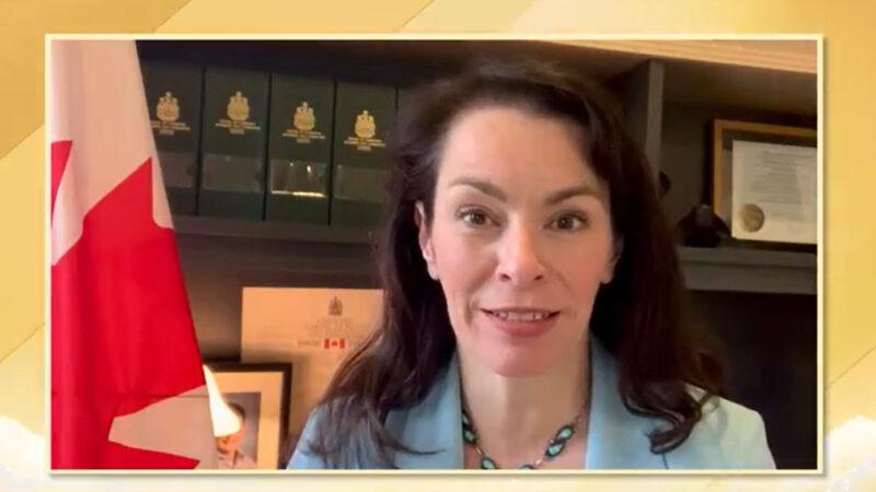"""新民主党国会副主席Heather McPherson恭贺5.13""""世界法轮大法日"""""""