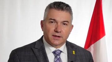 加拿大保守黨國會議員James Bezan恭賀5.13「世界法輪大法日」