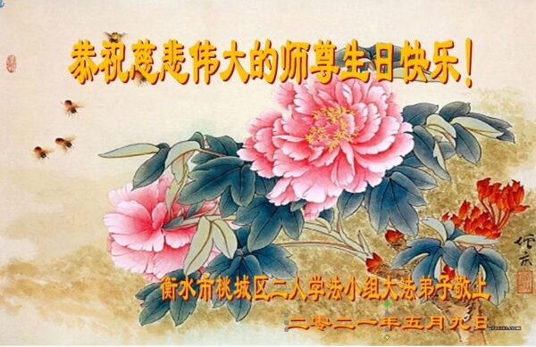 河北法輪功學員恭賀世界法輪大法日暨李洪志大師華誕(29條)