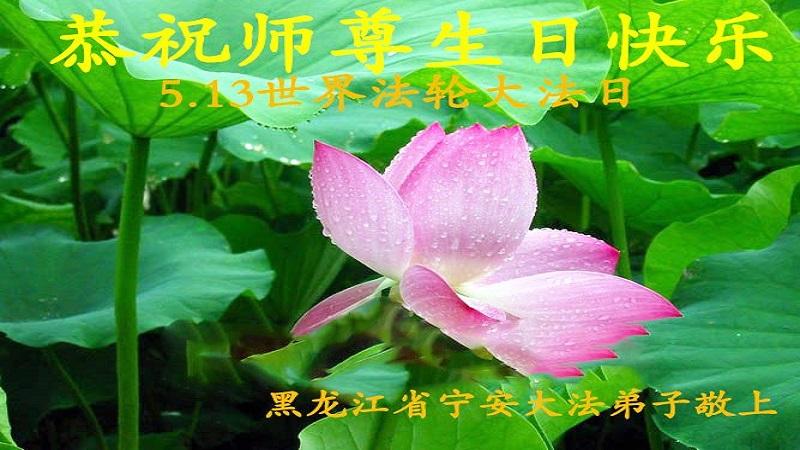 黑龙江法轮功学员恭贺世界法轮大法日暨李洪志大师华诞(29条)