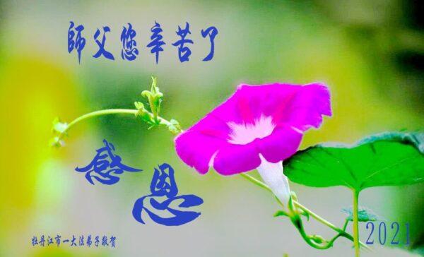 黑龍江法輪功學員恭賀世界法輪大法日暨李洪志大師華誕(25條)