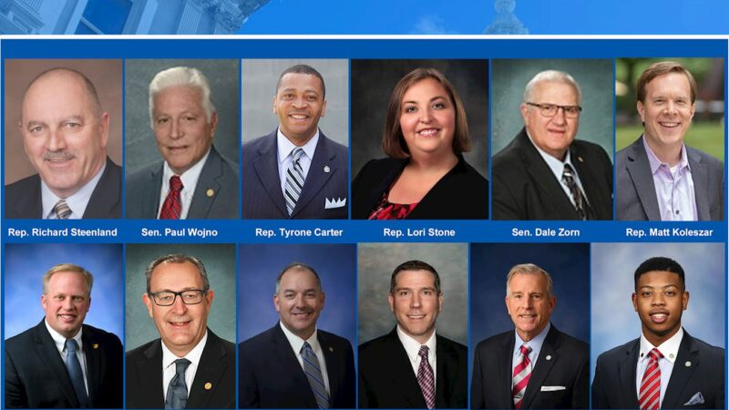 密西根州参众两院颁发褒奖 祝贺世界法轮大法日