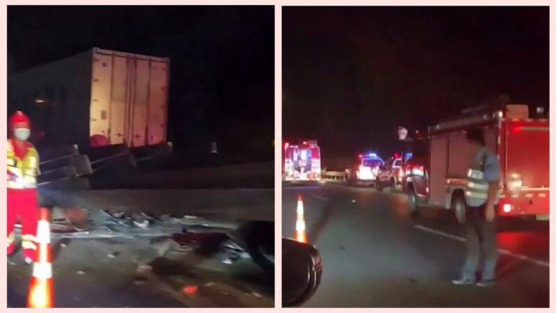 五一假期浙江高速6车追尾 致6死3伤