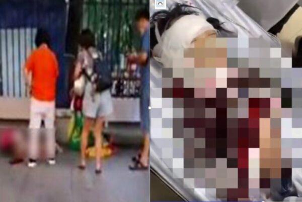 習近平前腳剛走 廣西幼兒園3天2起砍人血案(視頻)