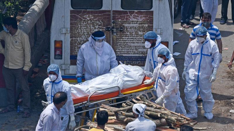 中共病毒患者又感染致命真菌 印度疫情雪上加霜