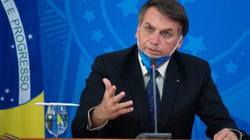 巴西染疫死亡人数飙升 总统暗指与中共生物战有关