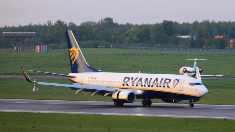 瑞安航空客机迫降白俄罗斯 美欧要求全面调查