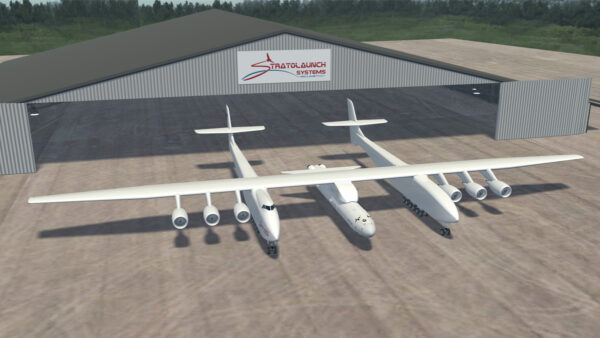 """""""大鹏""""再展翅 世界最大飞机二次试飞成功"""