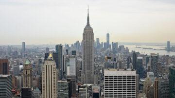 昔日世界最高建筑 帝国大厦度过90岁生日